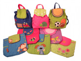 Children's Quilted Backpack
