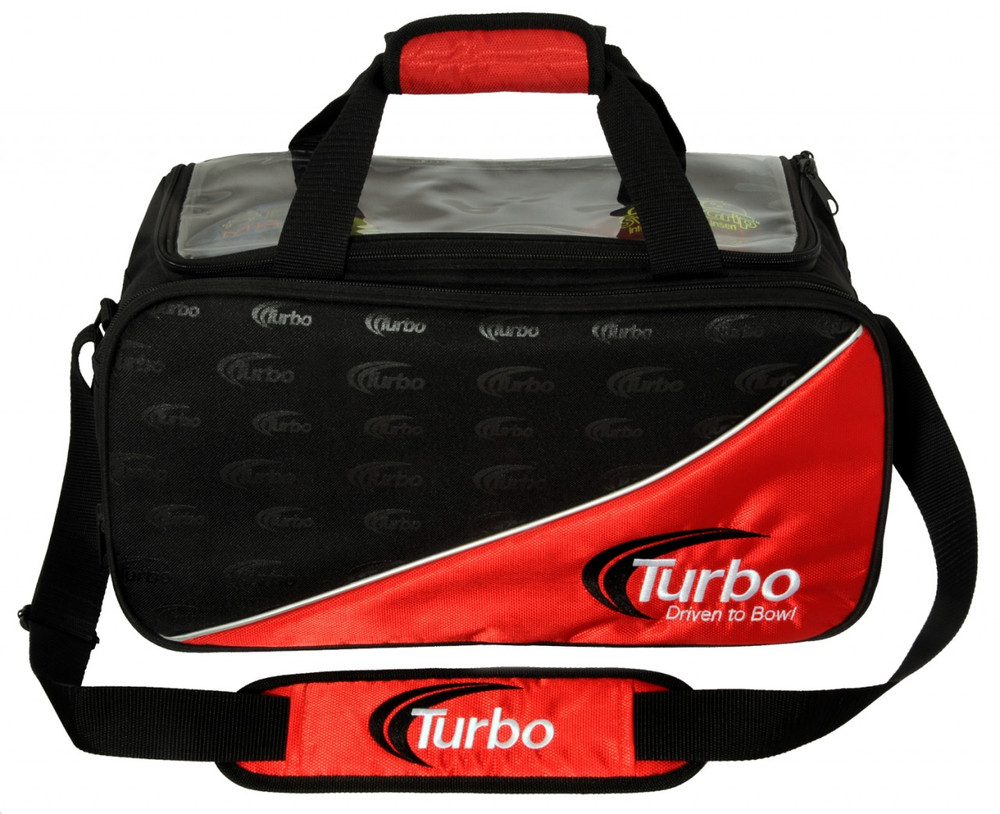 Turbo 2 Ball Double Tour Tote Red