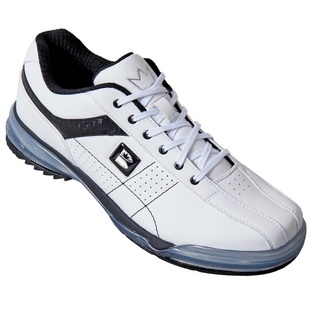 Brunswick TPU X Mens Bowling Shoes White Black Right Hand