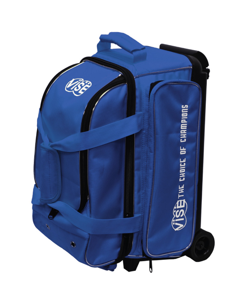 Vise 2 Ball Economy Roller Bowling Bag By Vise Free