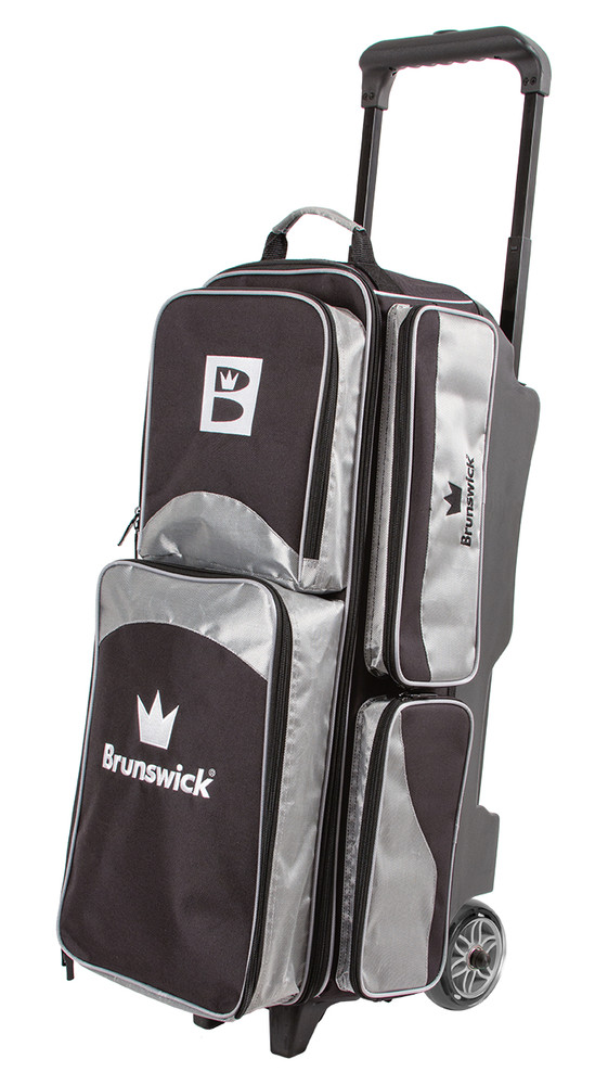 Brunswick Edge 3 Ball Triple Roller Bowling Bag By