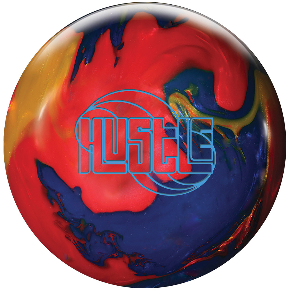 Roto Grip Hustle Bowling Ball Red Indigo Gold