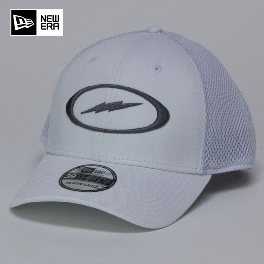 Storm Bolt Hat White/Gray