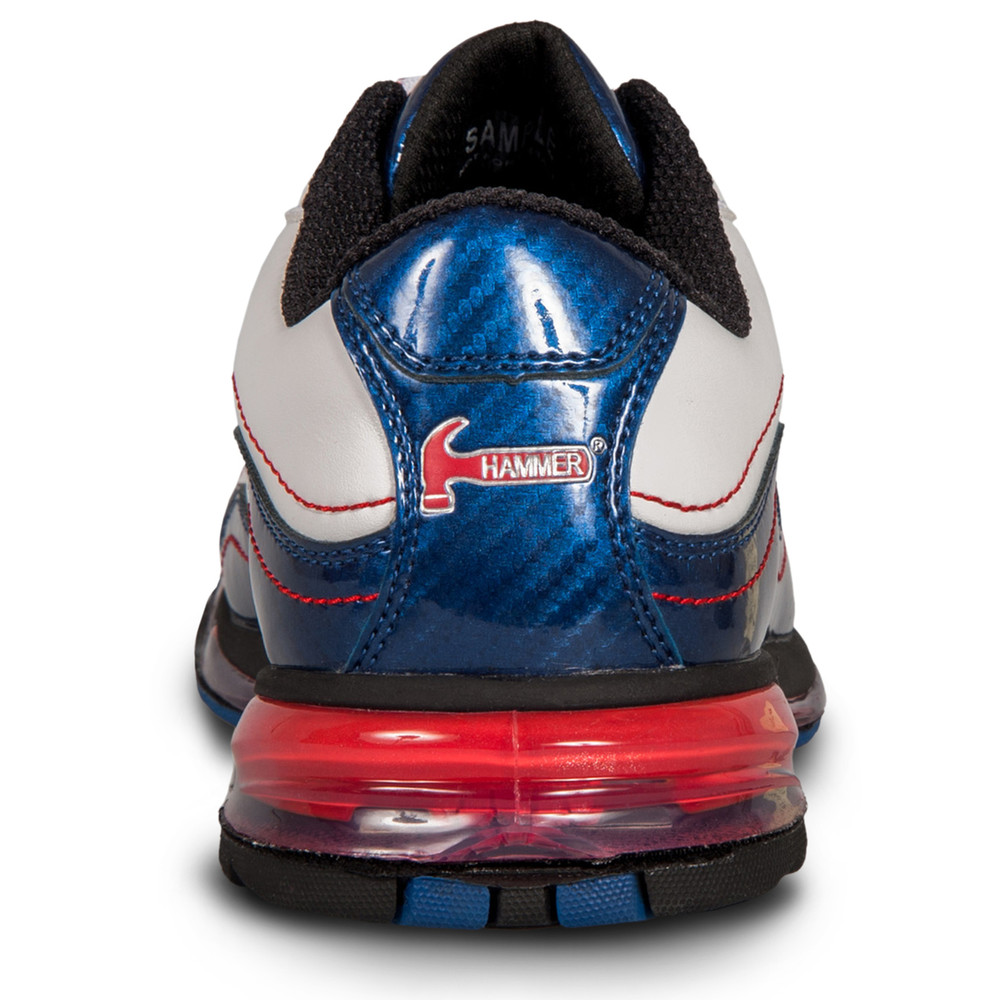 Hammer Patriot Mens Performance Bowling Shoes Red White Blue Right Hand
