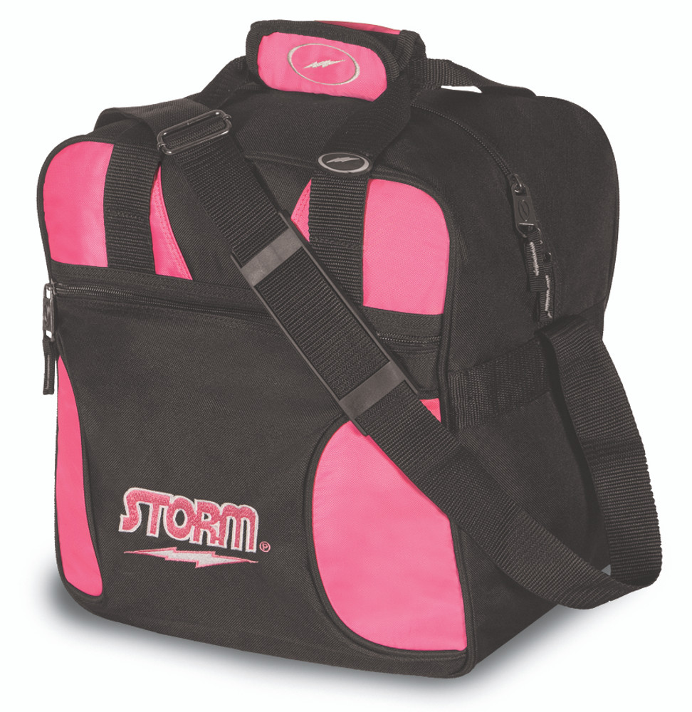 Storm Solo 1 Ball Tote Bowling Bag Pink