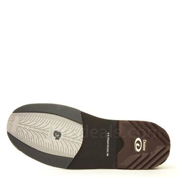 Dexter SST 8 Mens Bowling Shoes White/Black/Gold bottom view