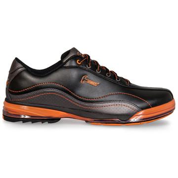 Hammer Force Mens Performance Bowling Shoes Black Carbon Orange Left Hand