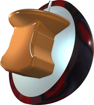 Track Cyborg Bowling Ball