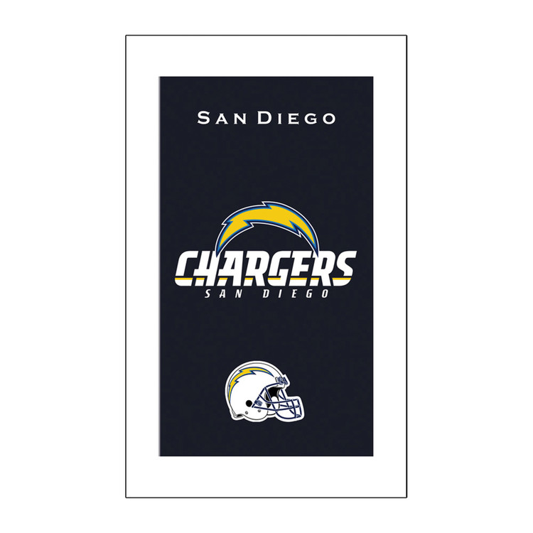 KR NFL Bowling Towel San Diego Chargers