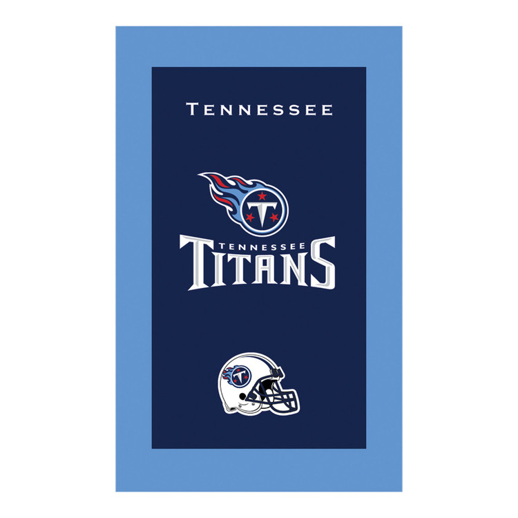 KR NFL Bowling Towel Tennessee Titans