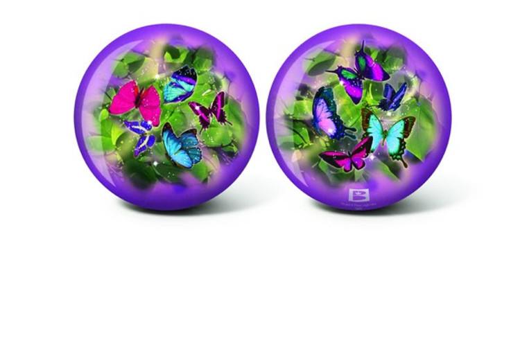 Brunswick Viz a Ball Butterflies Glow Bowling Ball