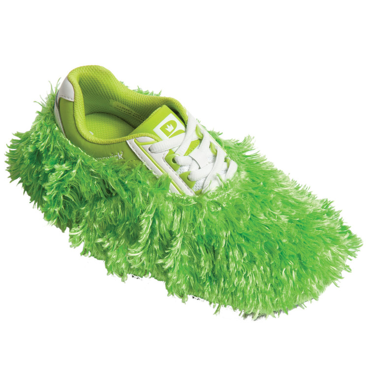 Brunswick Fun Shoe Cover Fuzzy Lime
