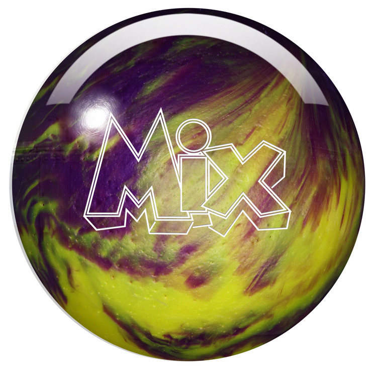 Storm Mix Pearl Bowling Ball Purple Yellow