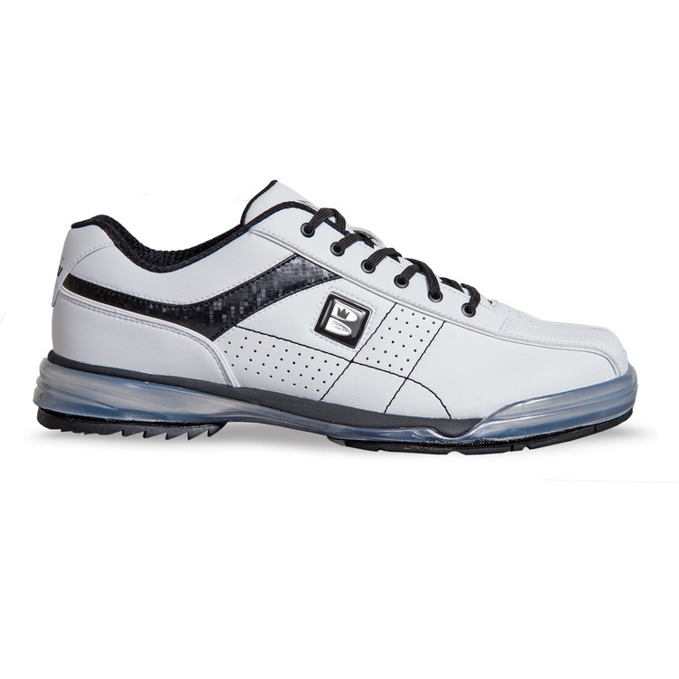 Brunswick TPU X Mens Bowling Shoes White Black Right Hand Wide width