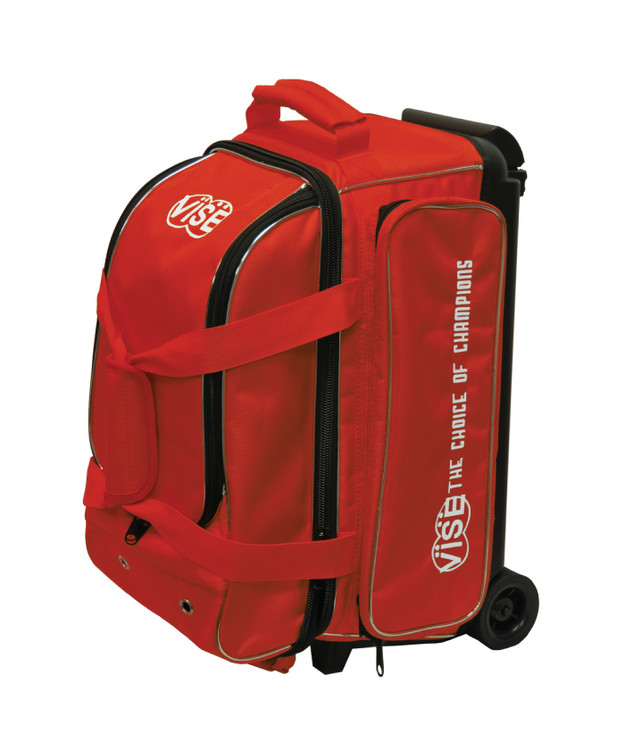 Vise 2 Ball Economy Roller Bowling Bag Red