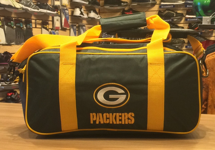 KR NFL 2 Ball Double Tote Bowling Bag Packers
