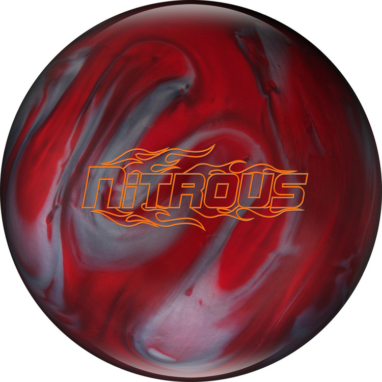 Columbia 300 Nitrous Bowling Ball Red Silver