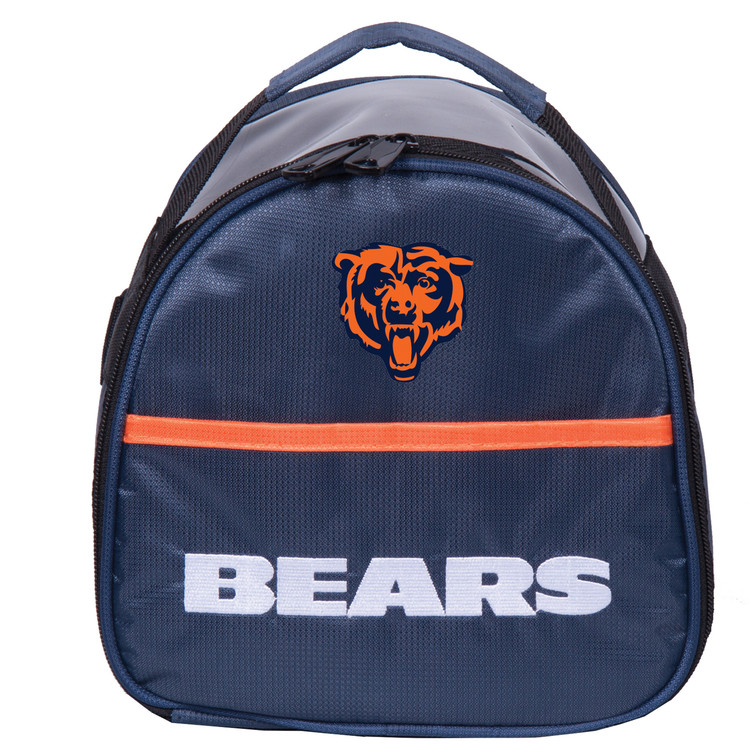 NFL Add On 1 Ball Single Tote Bowling Bag Chicago Bears