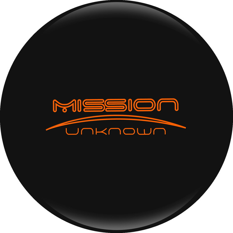 Ebonite Mission Unknown Bowling Ball Limited Edition