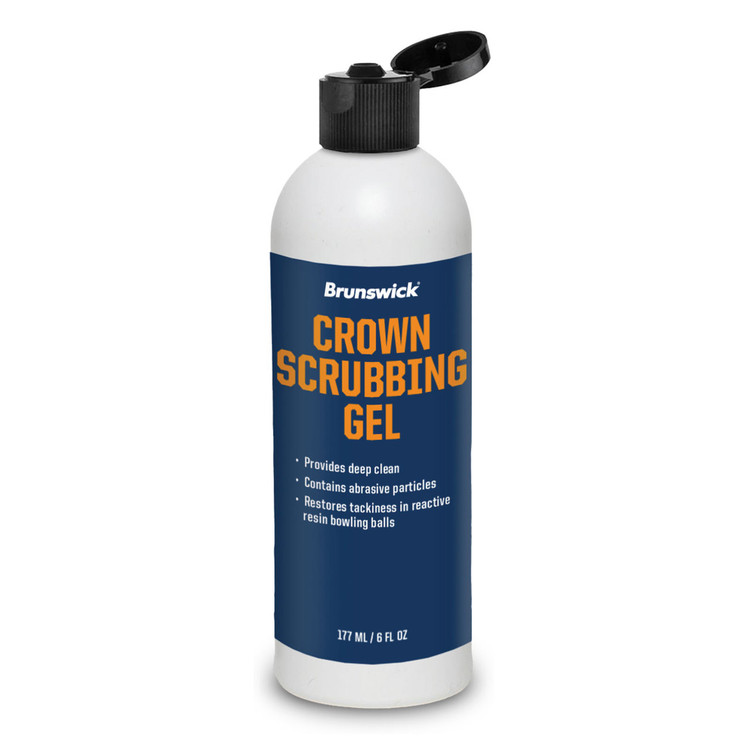 Brunswick Crown Scrubbing Gel 6oz Bottle