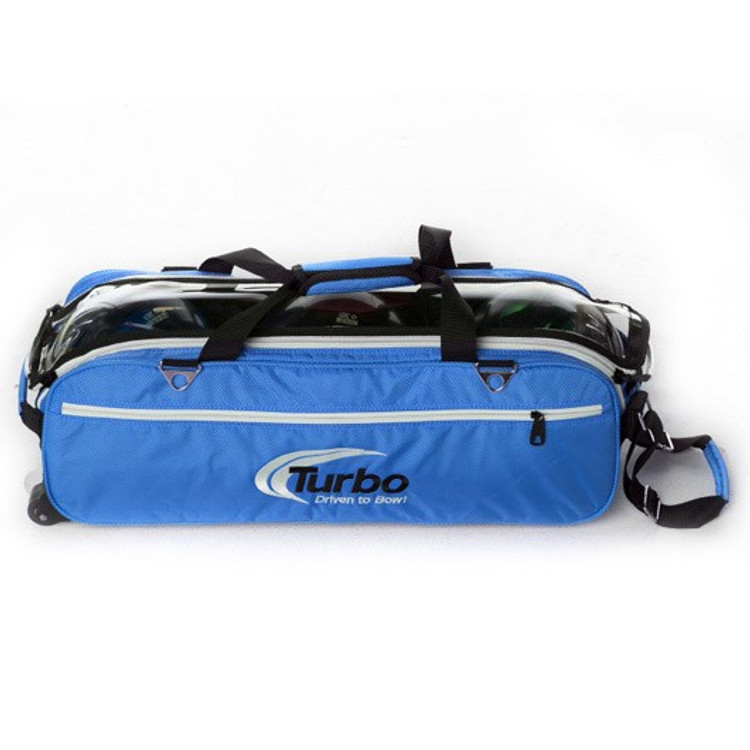 Turbo Express Tote Front View in Blue