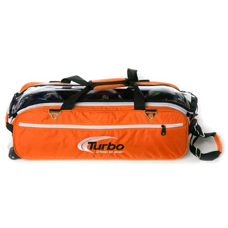 Turbo Express Tote Front View in Orange
