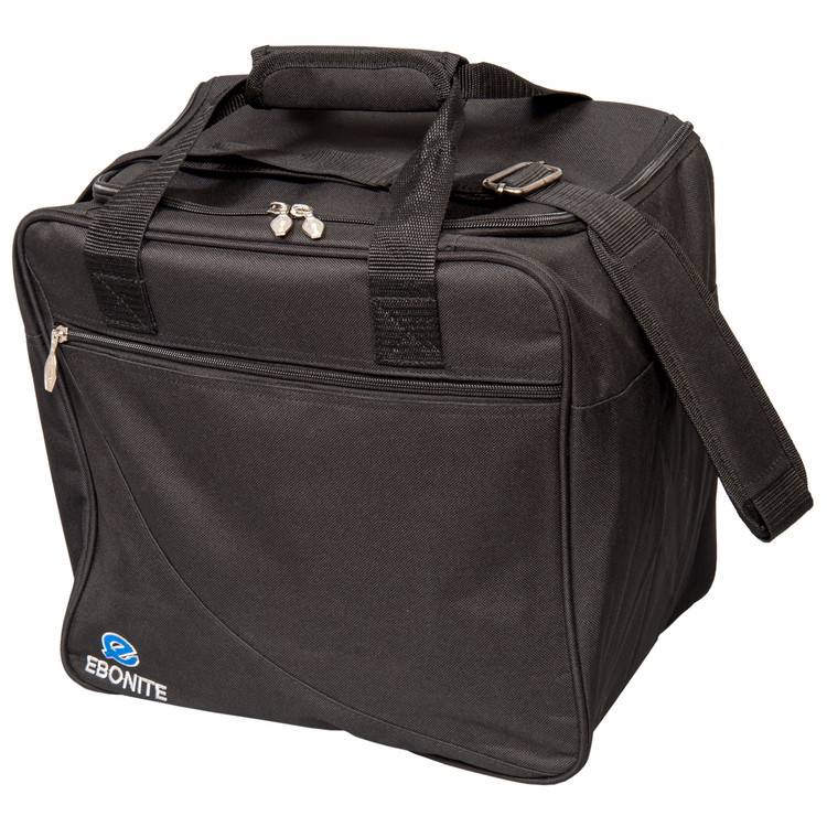 Ebonite Escort Single Tote Bowling Bag Black