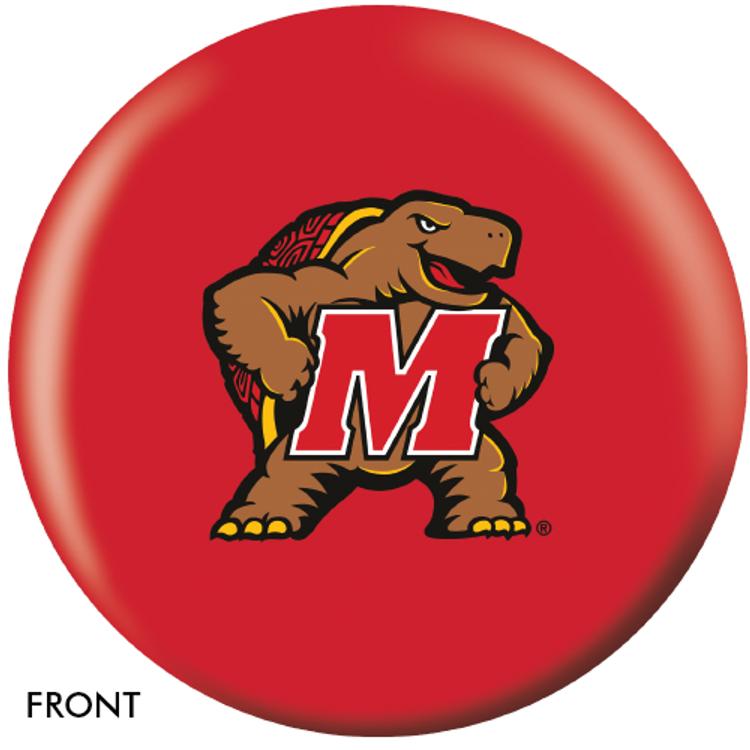 OTB NCAA University of Maryland Bowling Ball