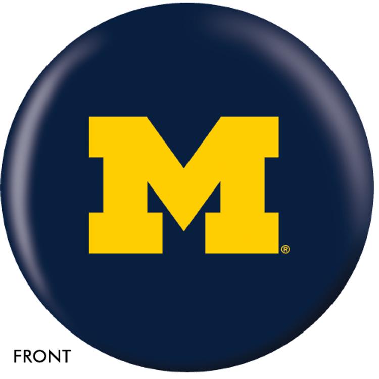 OTB NCAA University of Michigan Bowling Ball