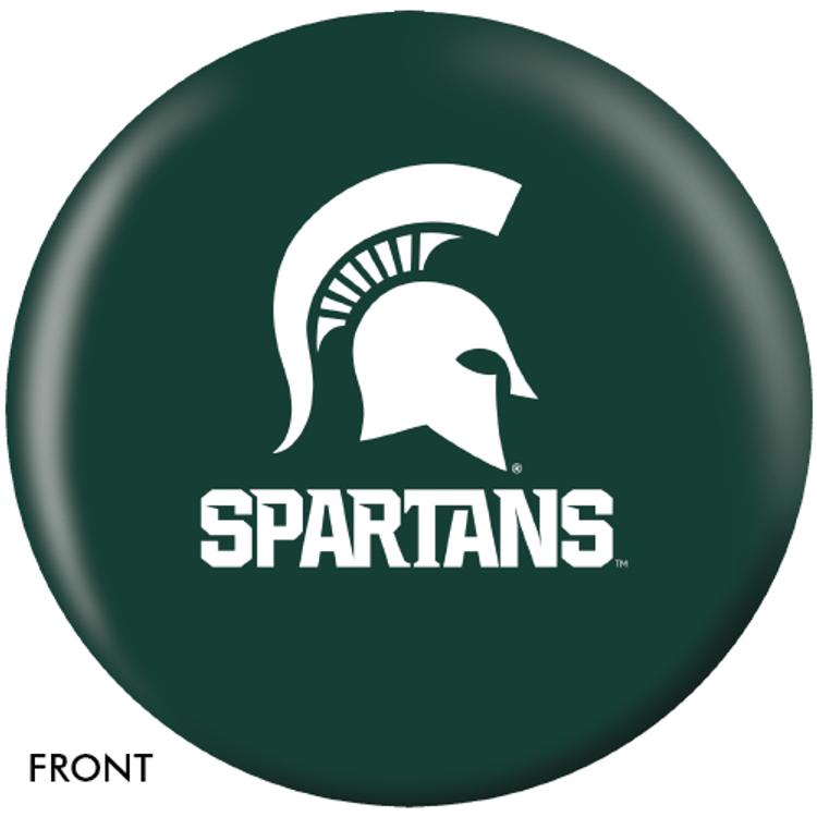 OTB NCAA Michigan State University Bowling Ball