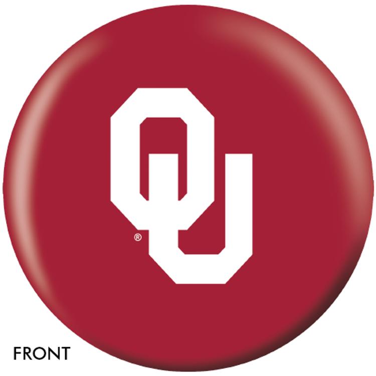 OTB NCAA University of Oklahoma Bowling Ball