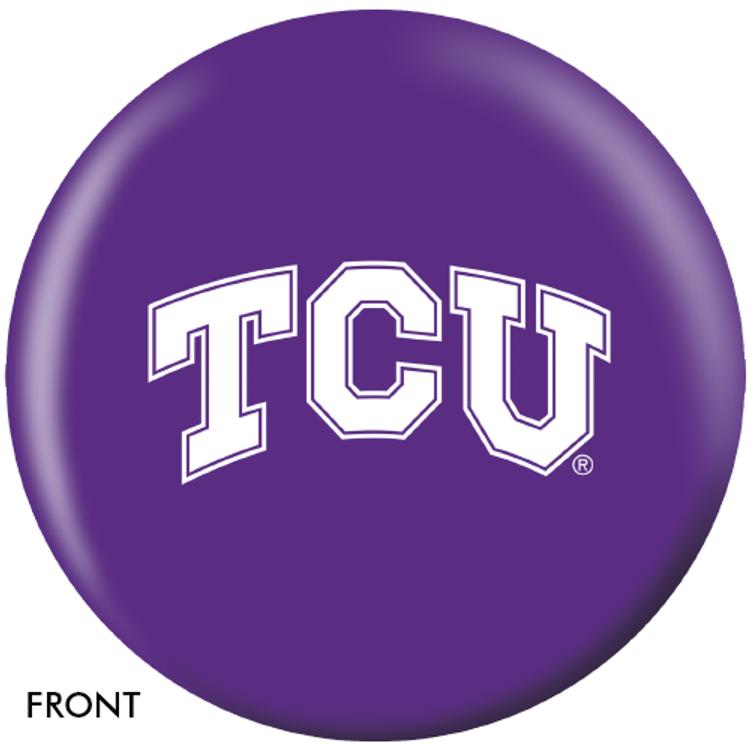 OTB NCAA Texas Christian University Bowling Ball