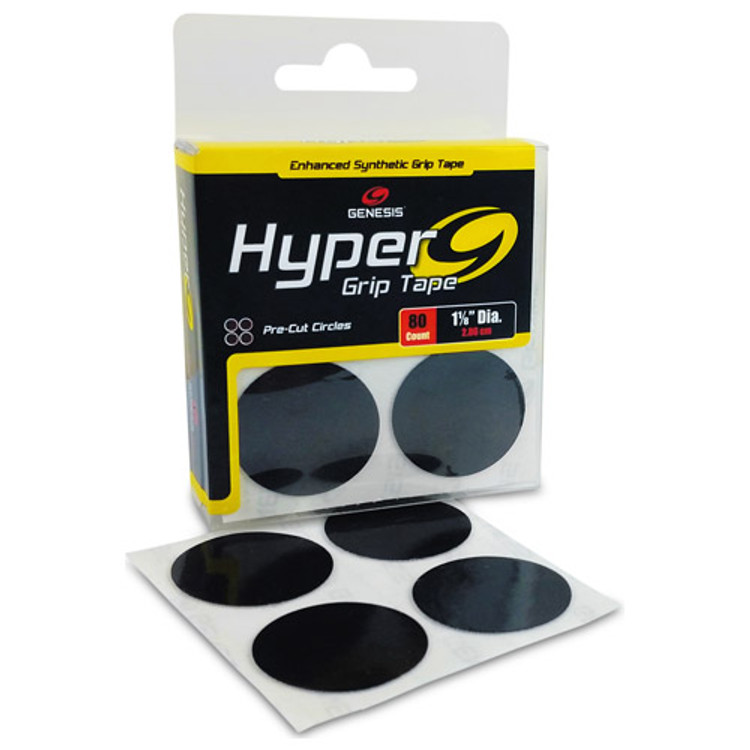 Genesis Hyper Grip Tape Circle Pads (80 pack)