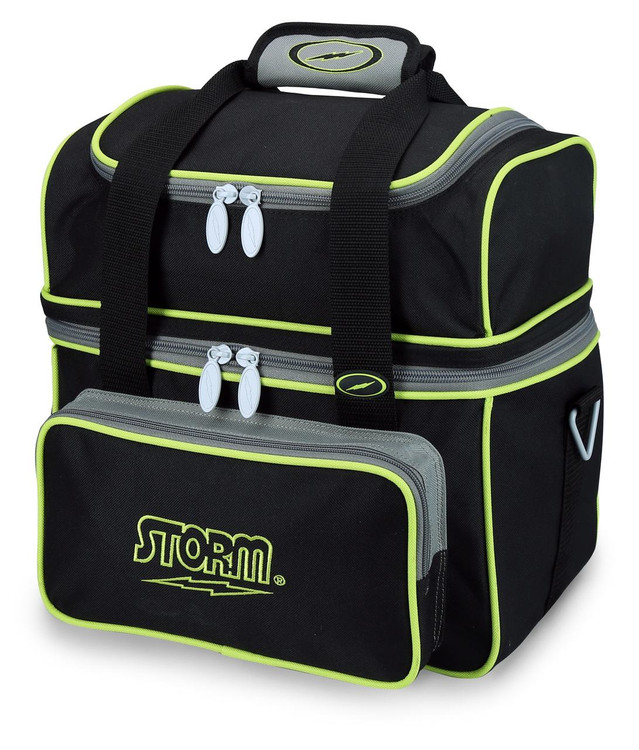 Storm Flip Tote 1 Ball  Bowling Bag Black Lime