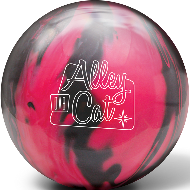 DV8 Alley Cat Pink Black Bowling Ball
