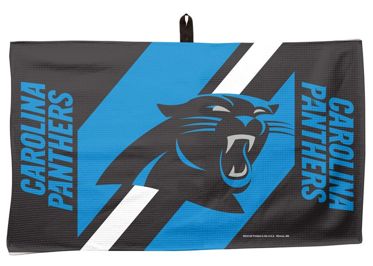 Master NFL Bowling Towel Carolina Panthers