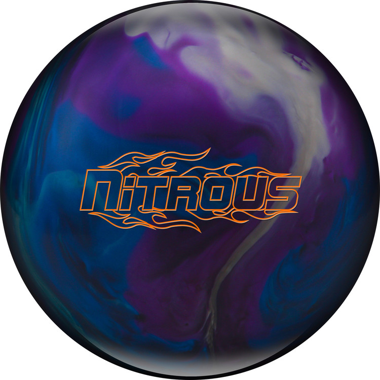Columbia 300 Nitrous Bowling Ball Blue Purple Silver