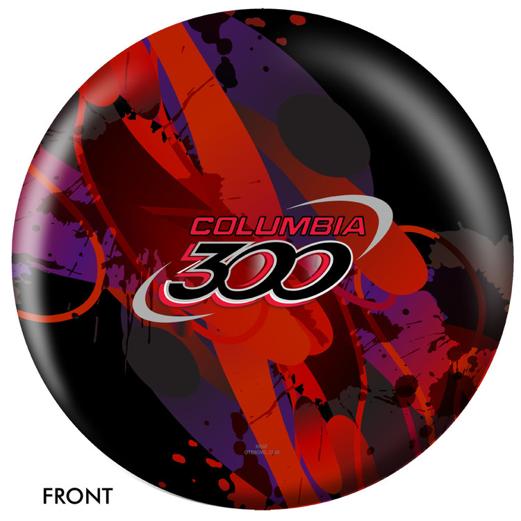 Columbia 300 Logo Ball Front View