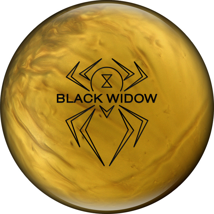 Black Widow Gold Front View