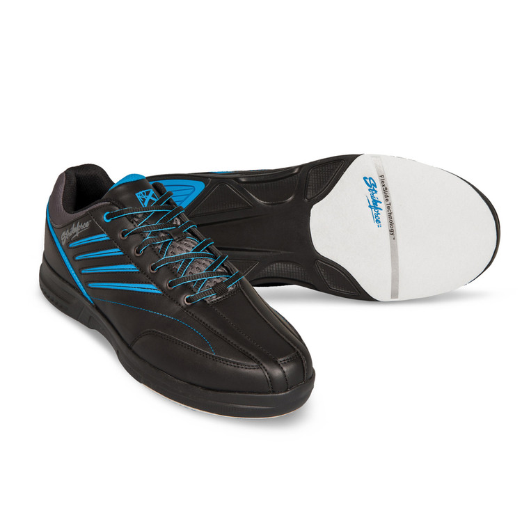 KR Strikeforce Crossfire Lite Mens Bowling Shoes Black Blue