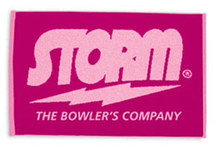 Storm Woven Towel Pink