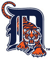 Master MLB Bowling Towel Detroit Tigers