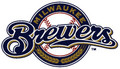 Master MLB Bowling Towel Milwaukee Brewers