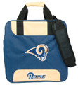 KR NFL Single Tote Bowling Bag St. Louis Rams