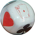 Lomar Poker Bowling Ball