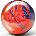 DV8 Misfit Orange Blue Bowling Ball