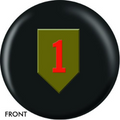 OTB 1st Infantry Bowling ball 