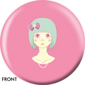 OTB Angel Szafranko Cute Stare Bowling ball 