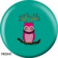 OTB Angel Szafranko Weird Owl Bowling ball