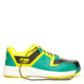 Storm Lightning Men's Bowling Shoes Teal Black Yellow Left Hand